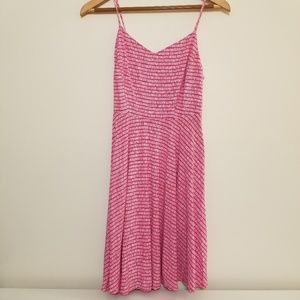 Old Navy Pink Fit and Flare Sundress, Sz S EUC
